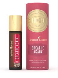 Breathe Again roll on essential oil blend