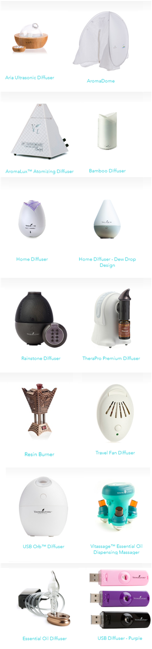 YL diffusers
